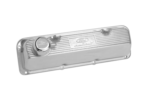 POLISHED ALUMINUM VALVE COVER - Ford Performance