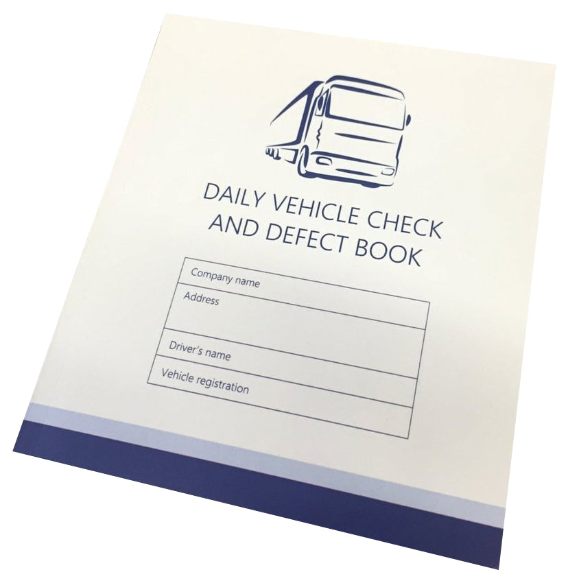 Vehicle Defect Books - pack of 50