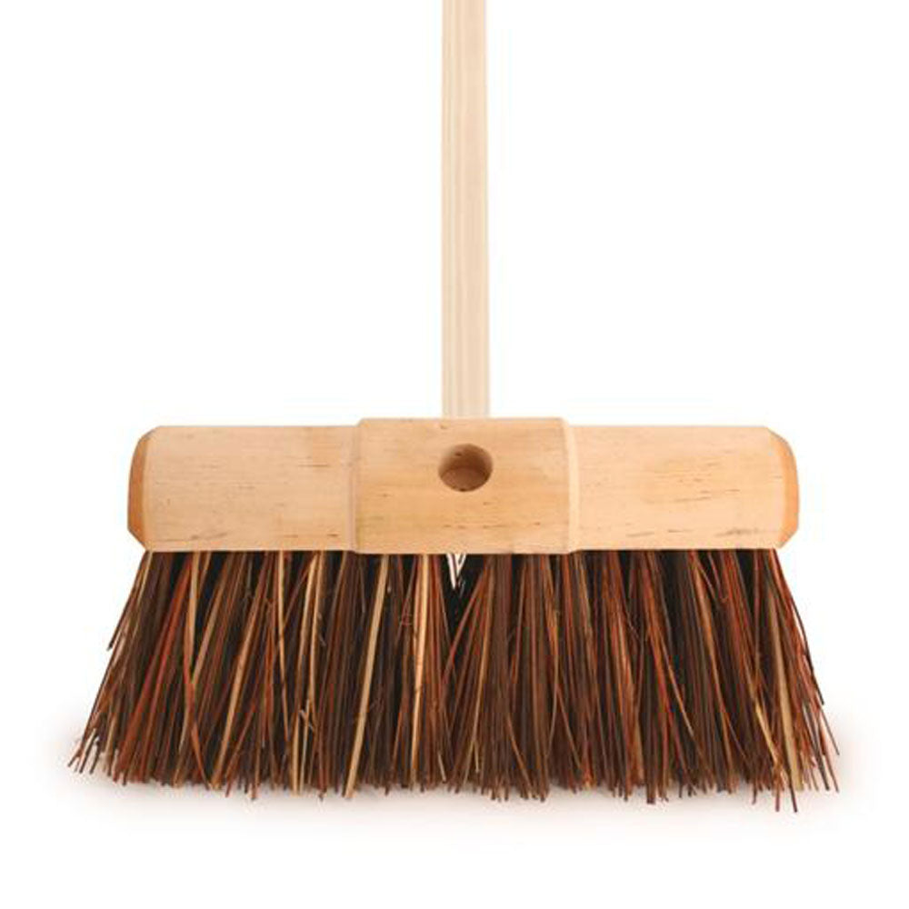 Wooden Handle Heavy Duty Broom