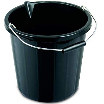 3 Gallon Plastic Bucket