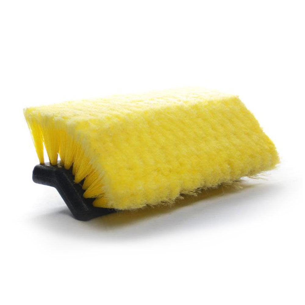 Replacement head for car cleaning brush