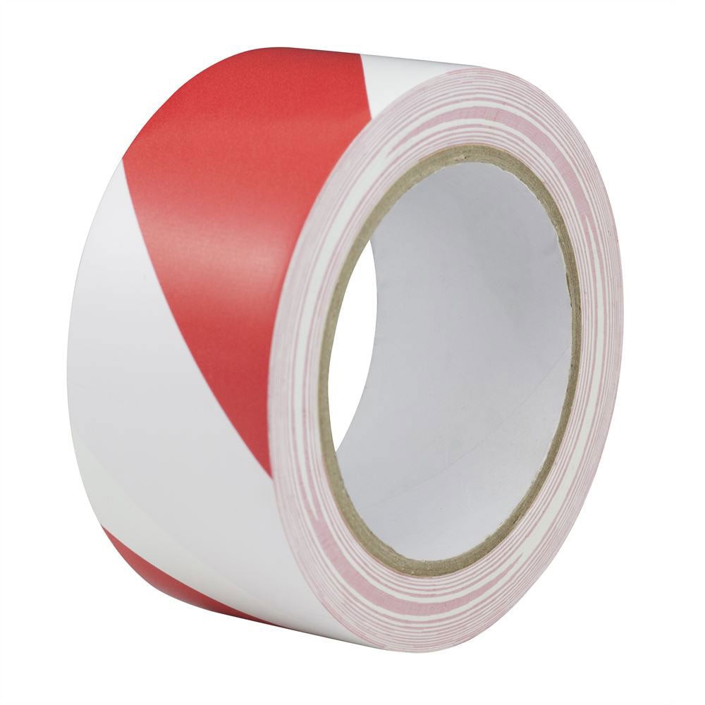 Red White Self Adhesive Tape