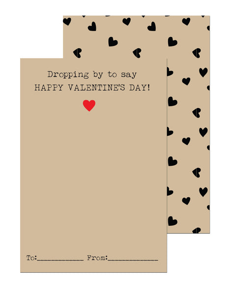 Parachute Valentines Cards (Set of 15)