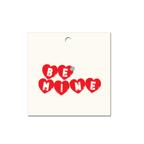 Be Mine Jeweld Gift Tags (Pack of 6)