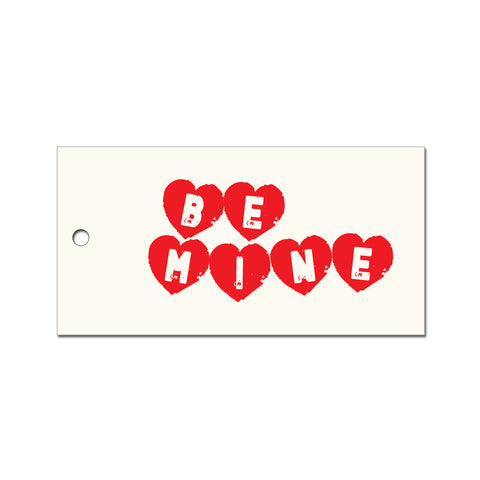 Be Mine Valentines Gift Tag