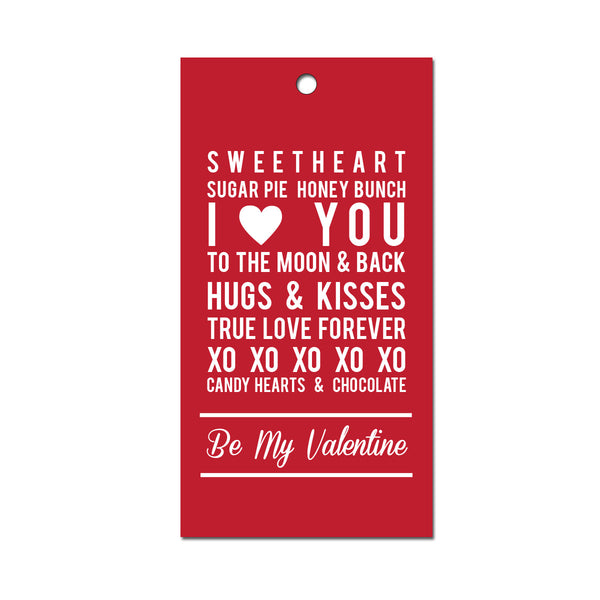Be My Valentine Gift Tags (Pack of 10)