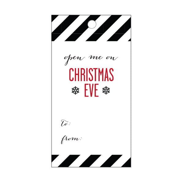 Christmas Eve Gift Tags (Pack of 10)