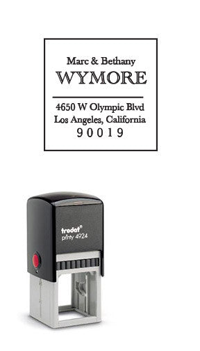 Classic Self-Inking Address Stamp