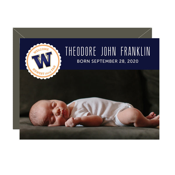 Dawg Fan Birth Announcement