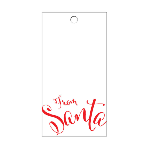 From Santa Gift Tags (Pack of 10)