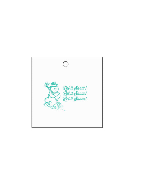 Frosty Gift Tags (Pack of 10)