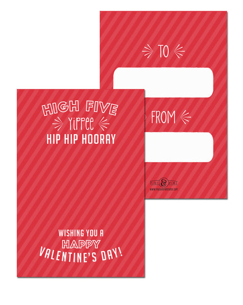High Five Valentines Cards (Set of 15)