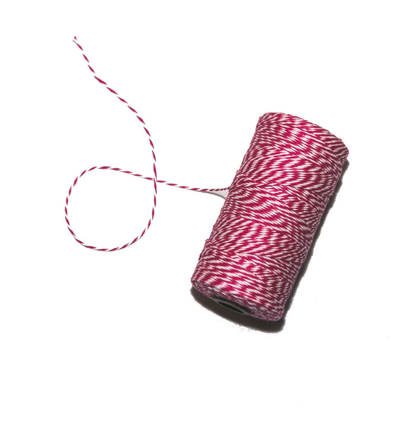 Baker's Twine (Hot Pink)