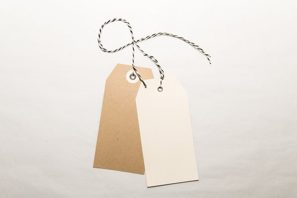 Paper Bag Gift Tags (Pack of 20)