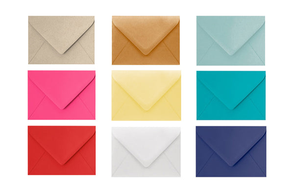 Premium Colored Envelopes