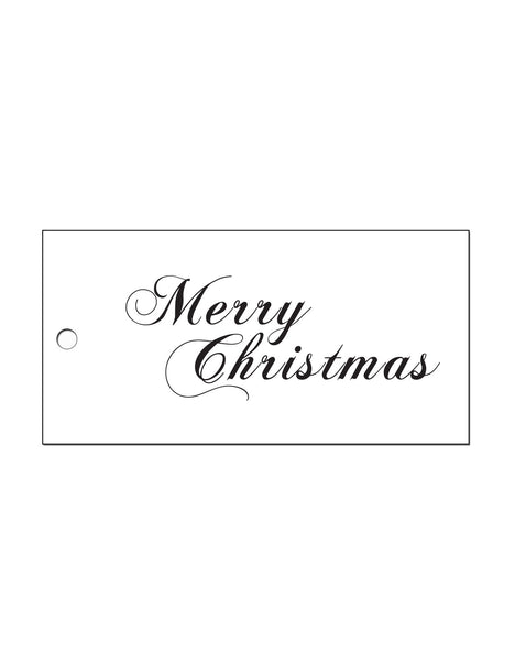Traditional Christmas Gift Tags (Pack of 10)
