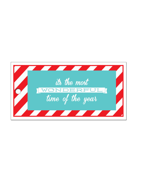 Wonderful Gift Tags (Pack of 10)