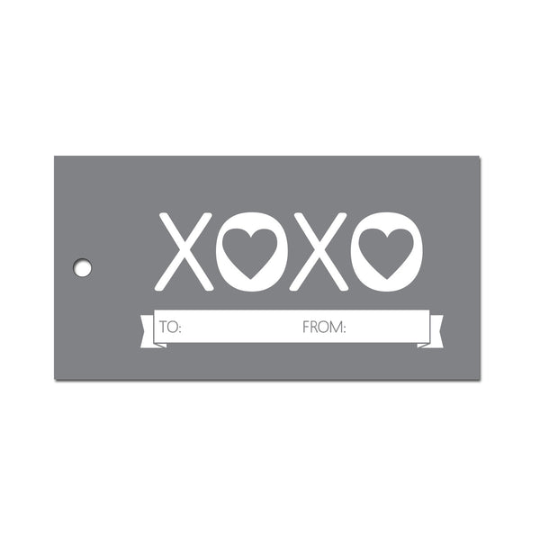 XOXO Gift Tags (Pack of 10)