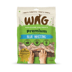 Wag Premium Cuts Blue Whiting Dog Treats