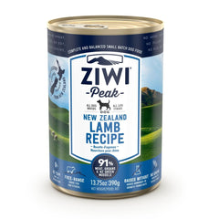 ZIWI Peak Wet Lamb Recipe for Dogs