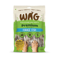 Wag Premium Cuts Forage Fish Dog Treats
