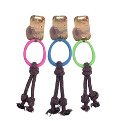 Beco Pets Natural Rubber Hoop on Rope