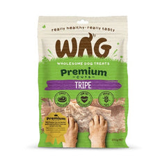 Wag Premium Cuts Beef Tripe Dog Treats