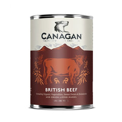 Canagan British Beef Dog Tin Wet Food