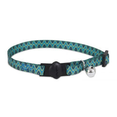 Aspenpet Breakaway Fashion Collar Geo Blue
