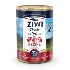 ZIWI Peak Wet Venison Recipe for Dogs
