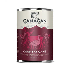 Canagan Country Game Dog Tin Wet Food