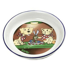 Flamingo Dog & Cat Ceramic Feeding Bowl