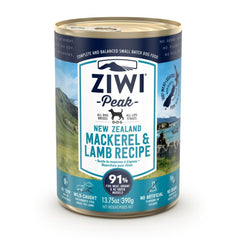 ZIWI Peak Wet Mackerel & Lamb Recipe