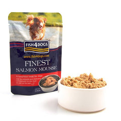 Fish4Dogs Finest Salmon Mousse for Dogs