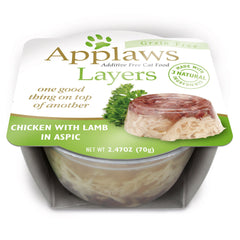 Applaws Cat Chicken with Lamb in Jelly 70g