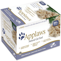 Applaws Cat Chicken Selection Multipack 8x60g