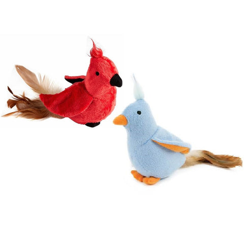 Petlinks Chirping Cardinal Call Cat Toy