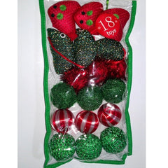 Grreat Choice Red & Green Cat Toys (18 toys)