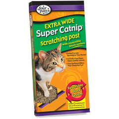 Four Paws Extra Wide Catnip Scratching Post