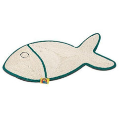 Flamingo Fish Scratch Mat For Cats
