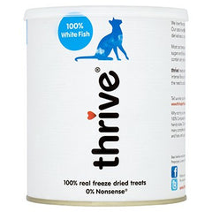 Thrive® 100% White Fish Cat Treats