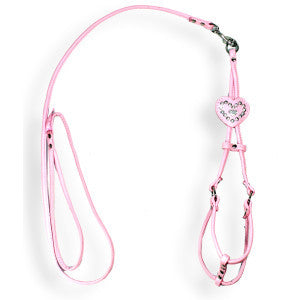 Hip Doggie Heart Charm Harness & Leash Set (M)