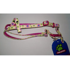 Top Paw Shimmery Flower Step-In Harness XS