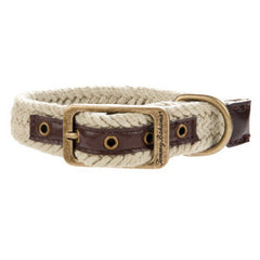 Tommy Bahama® Solid Woven Collar Tan