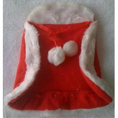 Santa's Little Helper Red Christmas Cloak