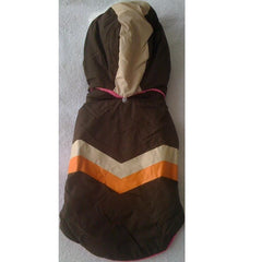Brown Jacket With Detachable Hoodie (M)