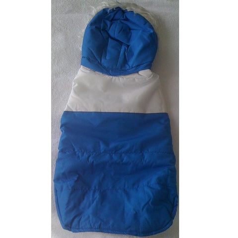 Blue Jacket With Detachable Hoodie (XL)