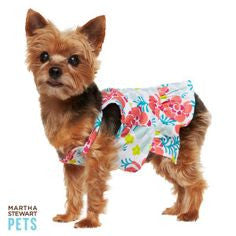 Martha Stewart Pets Hibiscus Dress XS