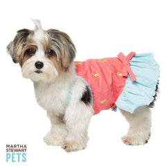 Martha Stewart Pets Sea Horse Dress XS