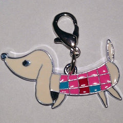 Dachshund Shaped Charm Pendant